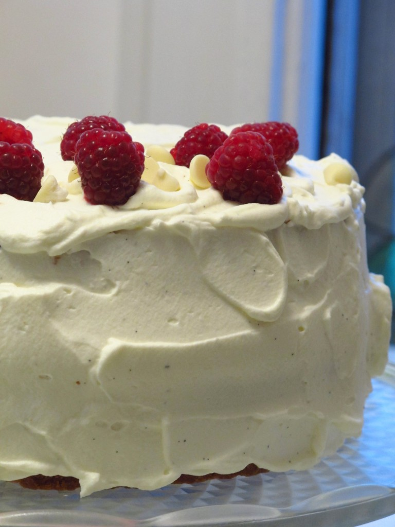 White Chocolate Raspberry Birthday Cake Kiku Corner