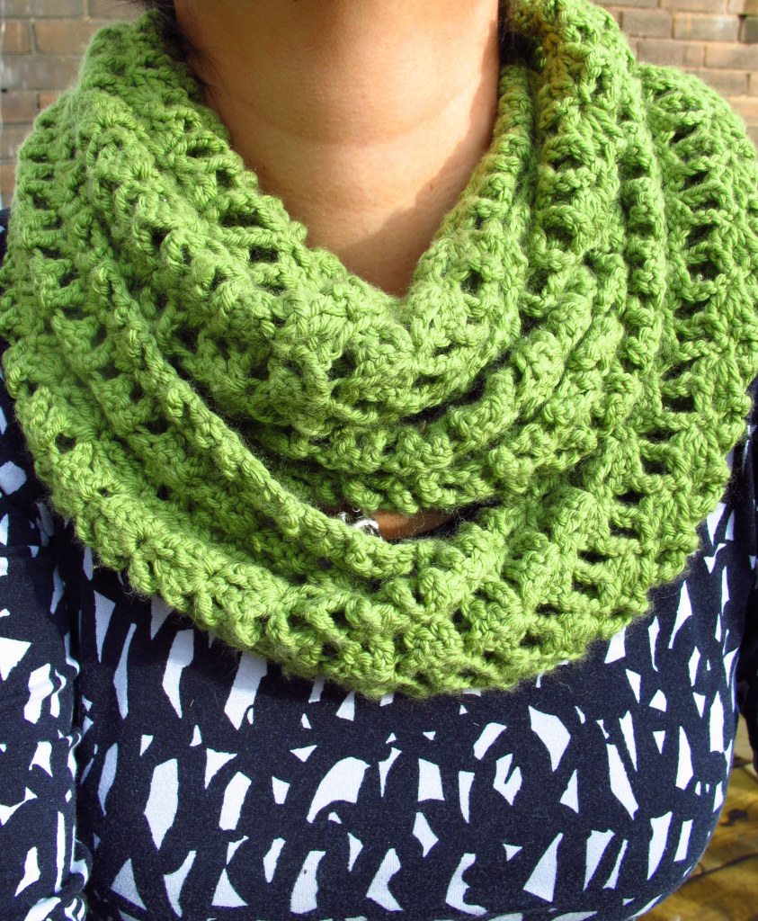 Crochet infinity scarf pattern shell dancox for crochet infinity scarf shell pattern images bankloansurffo Image collections