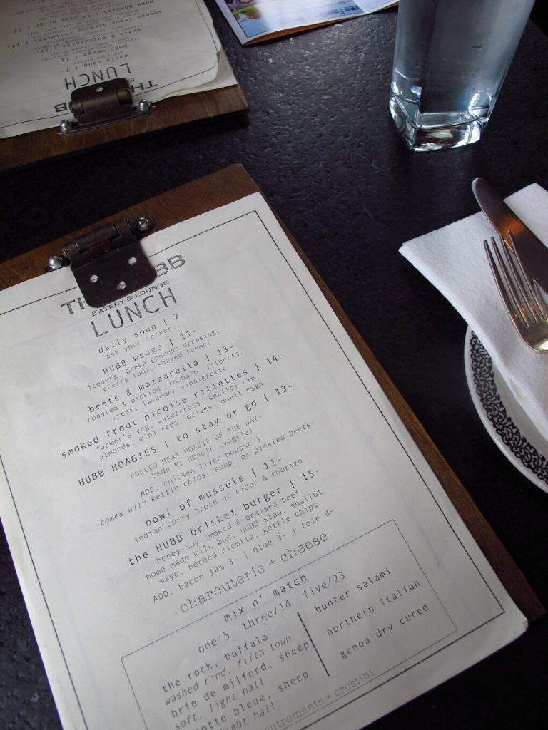 Prince Edward County Eats: The Hubb Eatery and Lounge