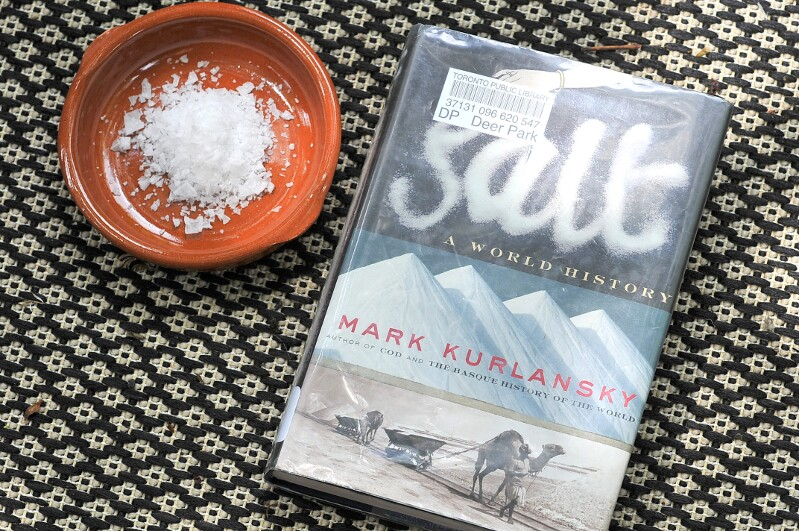The Year in Books: July with Salt by Mark Kurlansky