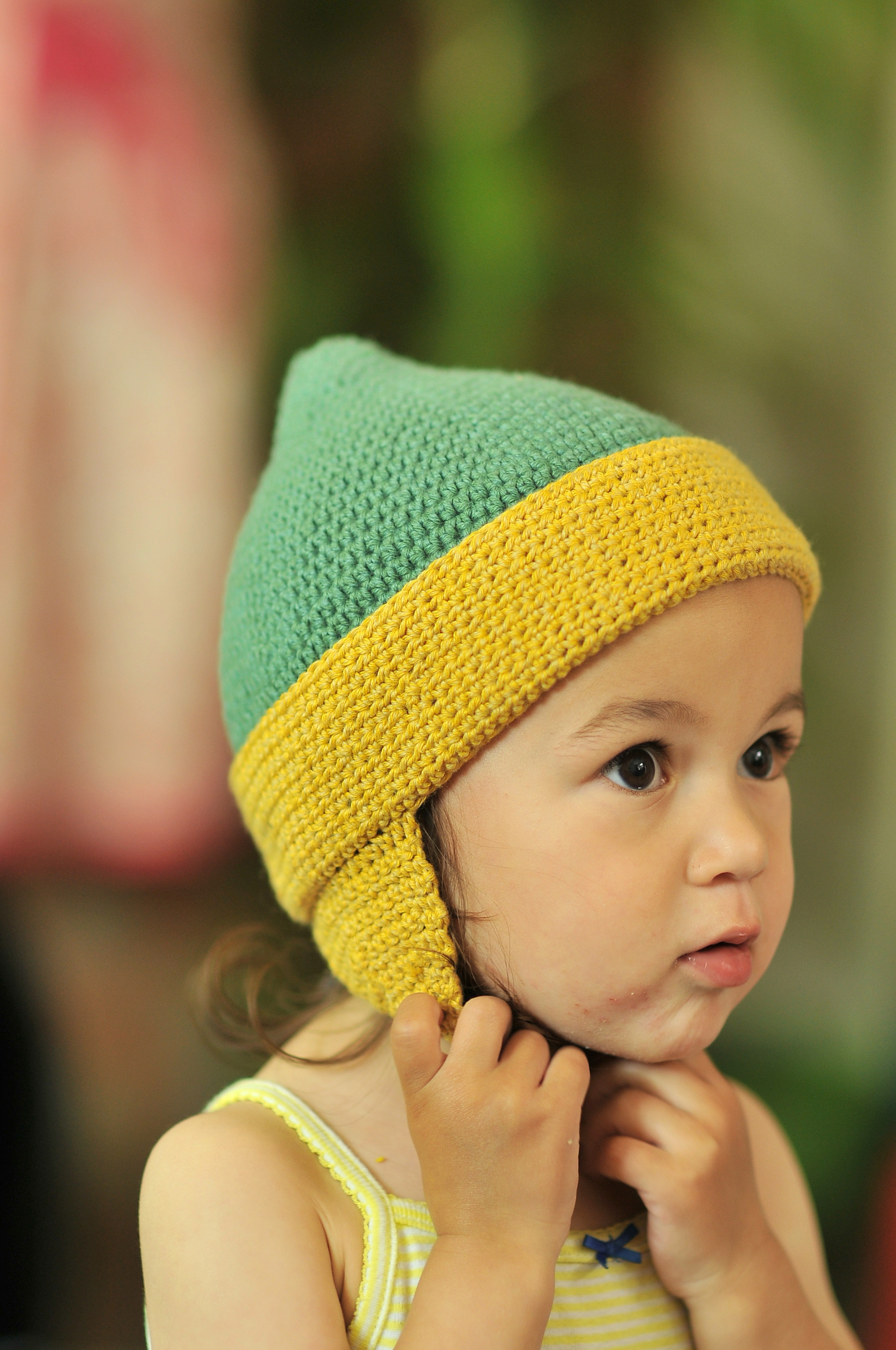 Free Crochet Hat Patterns For 1 Year Old : DIY: Crochet Toddler Earflap Hat and Free Pattern Kiku ...